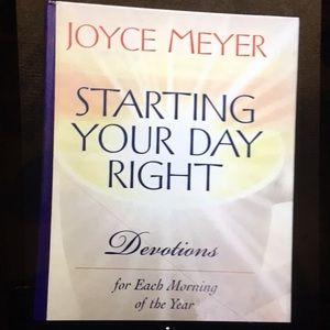 JOYCE MEYER INSPIRATIONAL BOOK